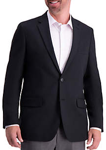 Haggar® Solid Gab Active Series Tailored Fit Blazer