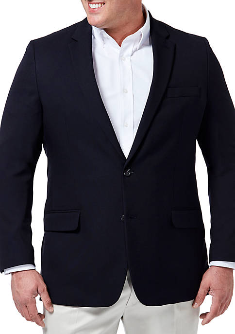 Haggar® Big & Tall Motion Tailored Fit Blazer