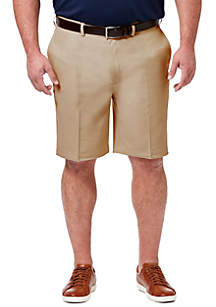 Haggar® Big & Tall Classic Fit Flat Front Shorts