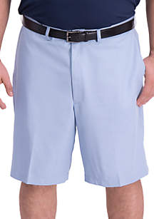 629d011d3a913f ... Haggar® Big & Tall Cool 18 Pro Oxford Flat Front Shorts