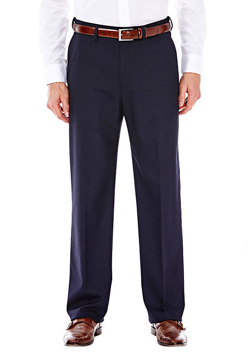 Haggar® Premium Stretch Sharkskin Classic Fit Suit Pants