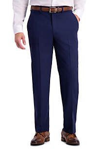 Active Series Herringbone Classic Fit Suit Separate Pants