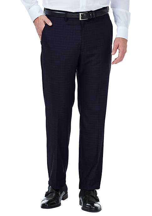 Haggar® Stretch Deco Classic Fit Flat Front Suit