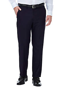 Stretch Deco Classic Fit Flat Front Suit Pant