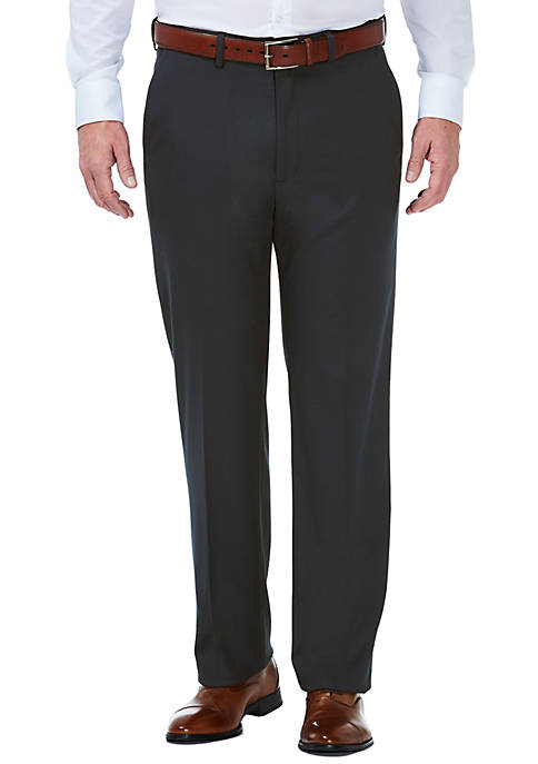 Haggar® Stretch Grid Classic Fit Flat Front Suit