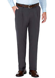 Haggar® Stretch Sharkskin Classic Fit Pleat Front Suit Pant