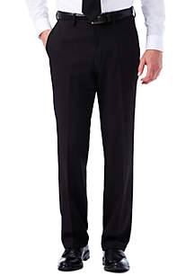 Travel Performance Tailored Fit Stria Gabardine Suit Pants
