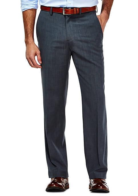 Haggar® Travel Performance Tailored Fit Stria Gabardine Suit