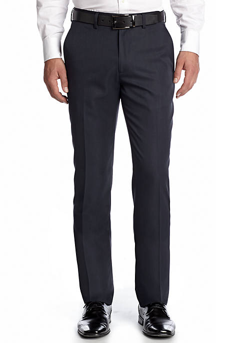 Haggar® Tailored Fit Wrinkle Free Stria Stripe Flat