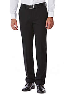 4-Way Stretch Slim Fit Flat Front Suit Pant