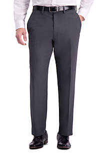 Stretch Travel Performance Stria Tailored Fit Suit Pants