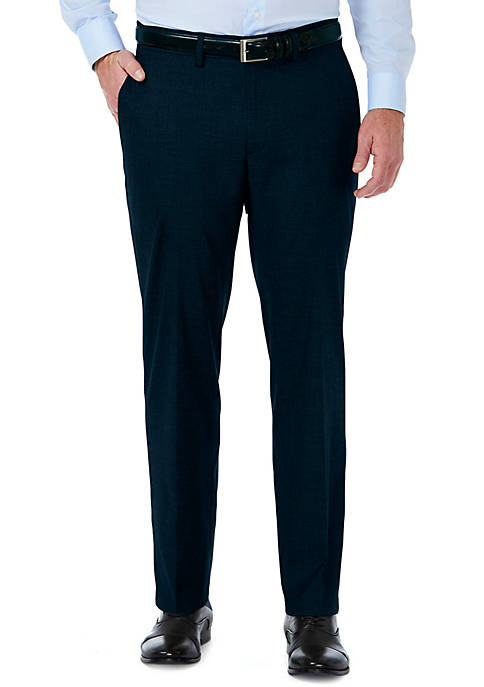 Haggar® Stretch Sharksin Tailored Fit Flat Front Suit