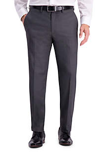 Texture Weave Slim Fit Suit Separate Pants
