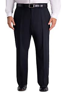 Haggar® Big & Tall Active Series Herringbone Classic Fit Suit Separate Pants