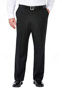 B&T Travel Performance Heather Pinstripe Classic Fit Suit Pant