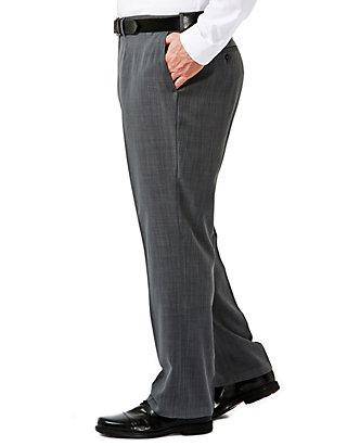 Haggar Men/'s Tall Big /& Performance Stria Gabardine Classic Fit Suit