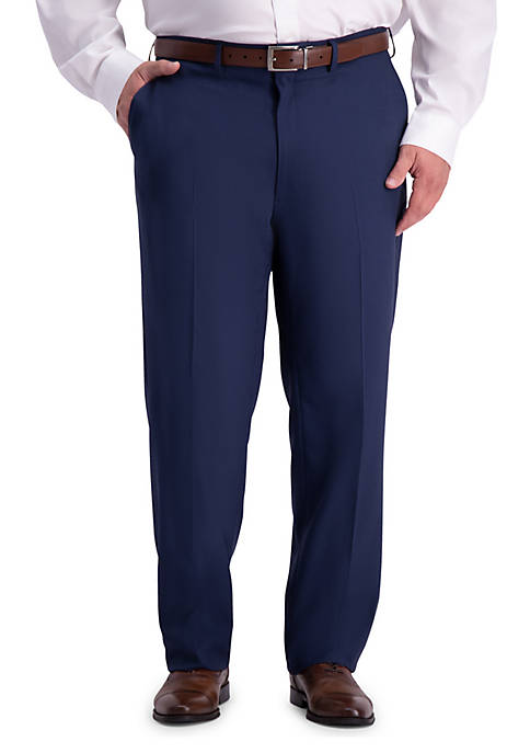 Big & Tall Stretch Travel Performance Classic Fit Suit Pants