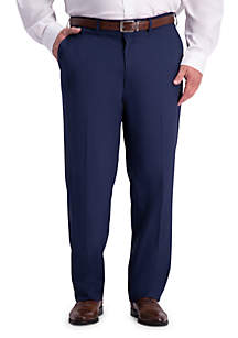 Haggar® Big & Tall Stretch Travel Performance Classic Fit Suit Pants