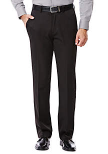Haggar® Big & Tall Travel Performance Classic Fit Solid Gabardine Suit Pants