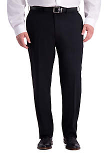 Haggar® Big & Tall Stretch Travel Performance Heather Twill Classic Fit Suit Separate Pants