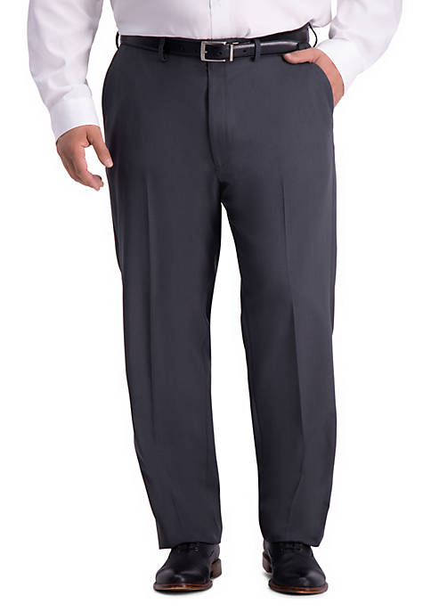 Big & Tall Stretch Travel Performance Stria Classic Fit Suit Separate Pants
