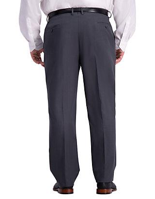 8dfd43d26b ... Haggar® Big   Tall Stretch Travel Performance Stria Classic Fit Suit  Separate Pants ...