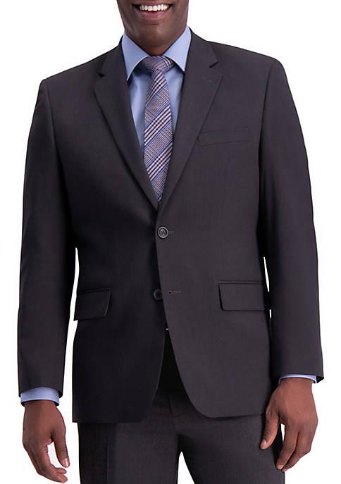 Diamond Weave Suit Separates Coat