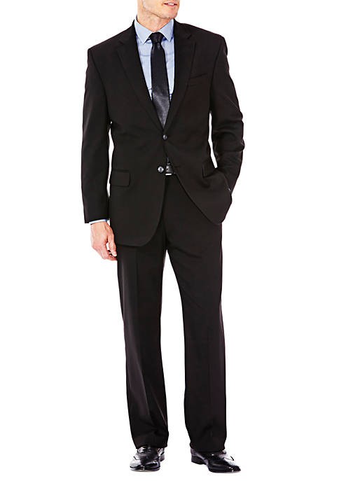 Haggar® Premium Stretch Sharkskin Classic Fit Suit Coat