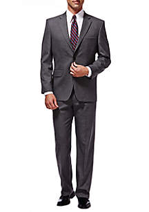 Premium Stretch Sharkskin Classic Fit Suit Coat