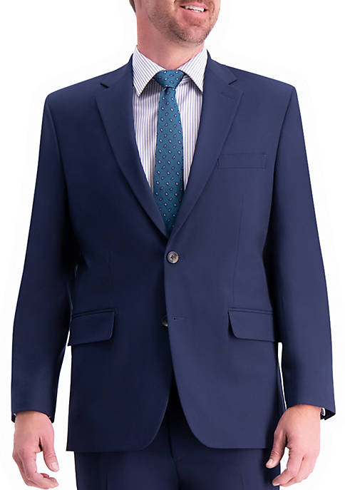 Haggar® Solid Gab Classic Fit Suit Separates Coat