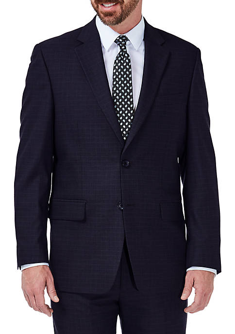 Haggar® Stretch Deco Classic Fit Suit Coat