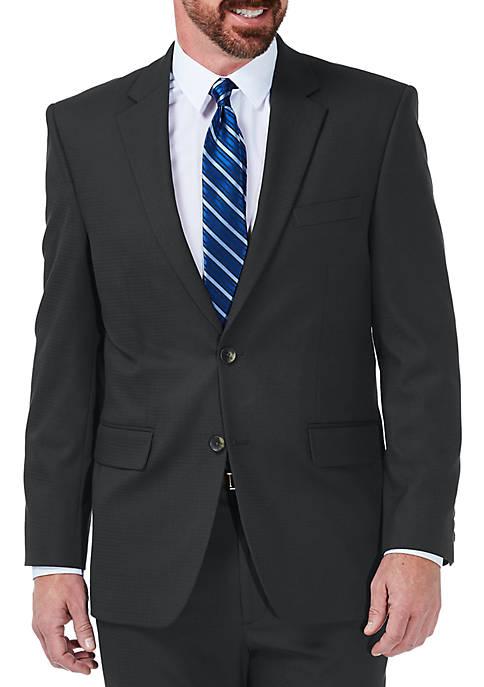 Haggar® Stretch Grid Classic Fit Suit Coat