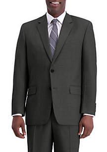 Texture Weave Classic Fit Suit Separate Coat