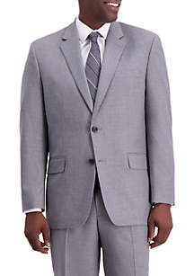 Texture Weave Classic Fit Suit Separate Coat