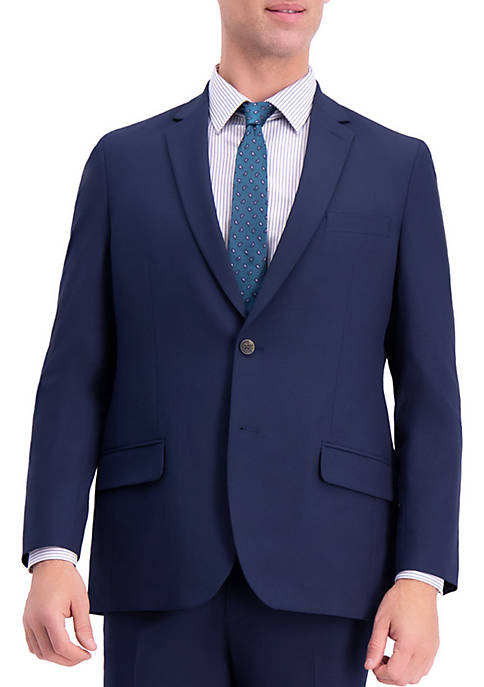 Haggar® Solid Gab Tailored Fit Suit Separates Coat