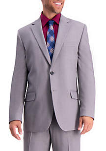 Haggar® Stretch Travel Performance Solid Tailored Fit Suit Coat