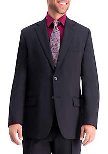 Stretch Travel Performance Heather Twill Tailored Fit Suit Coat