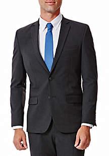 Haggar® 4 Way Stretch Solid Gab Slim Fit Suit Separate Coat