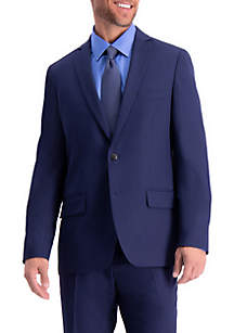 Active Series Herringbone Slim Fit Suit Separate Coat