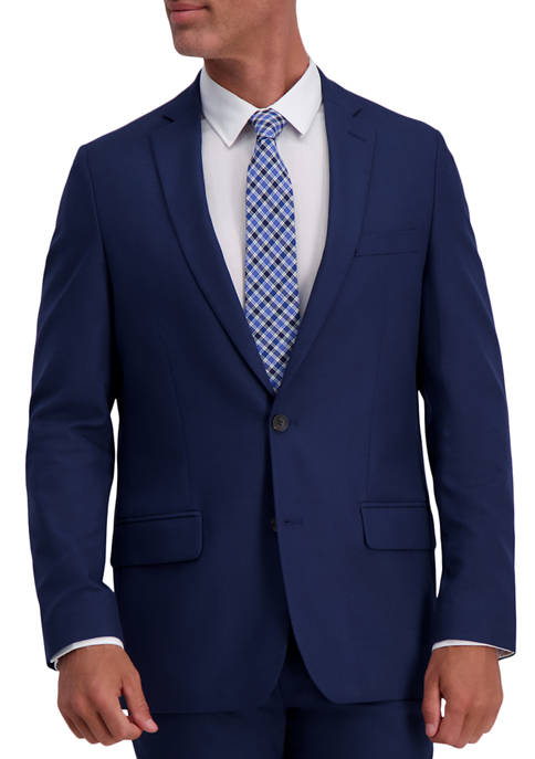 Haggar® Mens Stretch Basket Weave Slim Fit 2