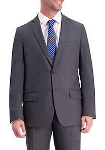 Textured Weave Slim Fit Suit Coat