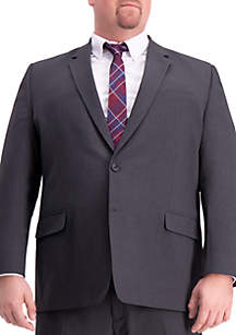 Haggar® Big & Tall 4 Way Stretch Solid Gab Classic Fit Suit Separate Coat