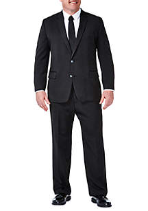 B&T Travel Performance Heather Pinstripe Classic Fit Suit Coat