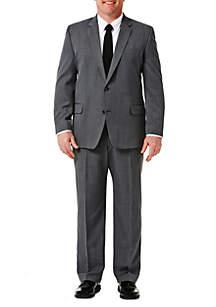 Haggar® Big & Tall Travel Performance Classic Fit Stria Gabardine Suit Jacket