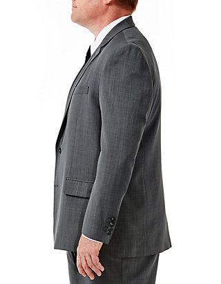 698504632d ... Haggar® Big   Tall Travel Performance Classic Fit Stria Gabardine Suit  Jacket ...