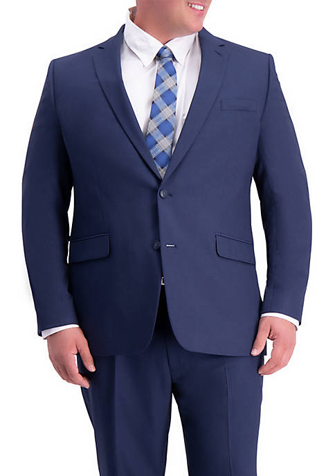Big & Tall Stretch Travel Performance Classic Fit Suit Coat