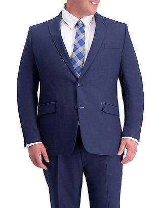 7801b4f6551d Haggar® Big & Tall Stretch Travel Performance Classic Fit Suit Coat ...