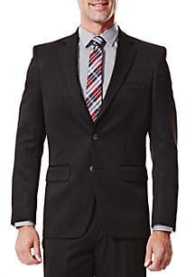 Haggar® Big & Tall Travel Performance Classic Fit Solid Gabardine Suit Coat