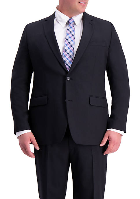 Big & Tall Travel Performance Heather Twill Classic Fit Suit Coat
