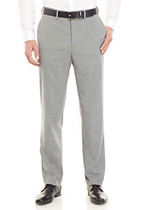 Saddlebred® Traveler Stretch Sharkskin Dress Pants